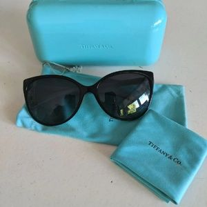 Tiffany & Co TF4089B Cat Eye Sunglasses
